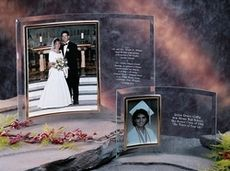 Crystal Invitation Picture Frame