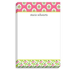 Pink Floral Band Notepad