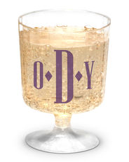 Personalized Plastic 5 oz. Wine Glasses