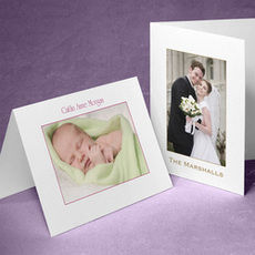 Custom Note Cards with Your Framed Full-Color Photo