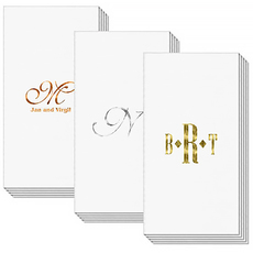 Design Your Own Luxury Masslinn Guest Towels