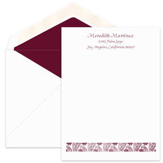 Meredith Letter Sheets