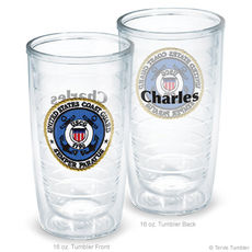 United States Coast Guard Personalized Tervis Tumblers
