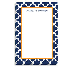 Navy Bristol Tile Notepad