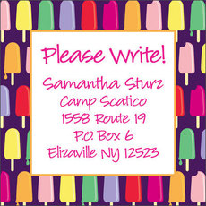 Popsicles Camp Calling Cards