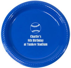 Personalized All Star Plastic Plates