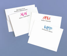Initial It Correspondence Note Cards