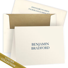 Luxury Bradford Folded Note Card Collection