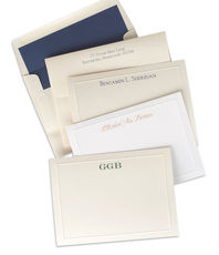 Distinctive Bordered Note Cards