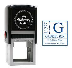 Side Zip Self-Inking Stamper