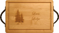 Maple 20 inch Rectangle Personalized Cutting Board