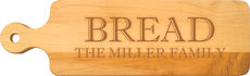 Maple 20 inch Personalized Bread Board