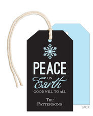 Peace on Earth Little Hanging Gift Tags