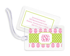 Beti Pink Luggage Tags