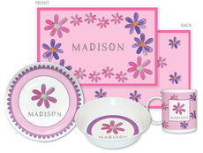 Flower Power 4-Piece Dinnerware Set