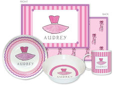 Ballerina 4-Piece Dinnerware Set