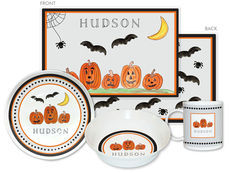 Haunted Halloween 4-Piece Dinnerware Set