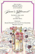 Wine and Dine Invitations