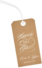 Brown Paper Hanging Gift Tags