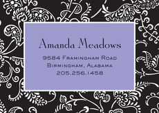 Lavender Matlesse Calling Cards