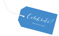 Ocean Celebrate Little Horizontal Hanging Gift Tags