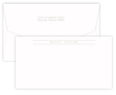 Triple Thick Chesapeake Corridor Embossed Note Cards