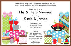 Shee & Hee Shower Invitations