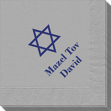 Traditional Star of David Napkins