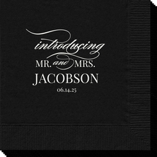 Introducing Mr and Mrs Napkins