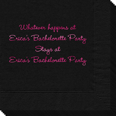 Whatever Happens Party Napkins
