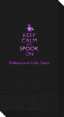 Keep Calm and Spook On Guest Towels