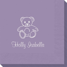Little Teddy Bear Napkins