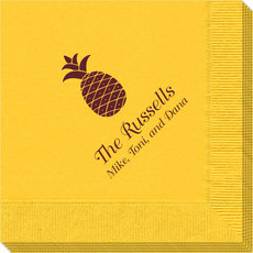 Hawaiian Pineapple Napkins