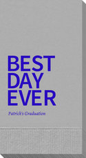 Bold Best Day Ever Guest Towels