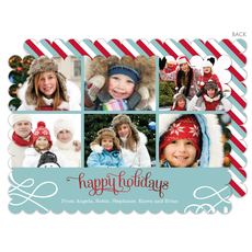 Lagoon Holiday Collage Photo Cards