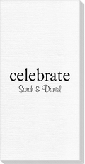 Big Word Celebrate Luxury DeVille Guest Towels