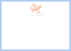 Goldfish Flat Note Cards