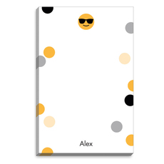 Emoji Sunglasses Dots Notepads