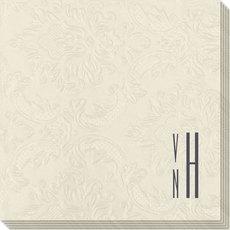 Your Skinny Stacked Initials Carte Napkins