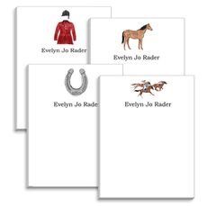 Equestrian Notepad Collection