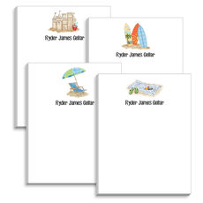 Beach Notepad Collection