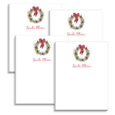 Winter Wreath Mini Notepads