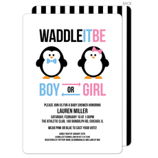 Waddle It Be Shower Invitations