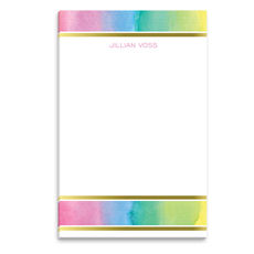 Pastel Watercolor Notepad
