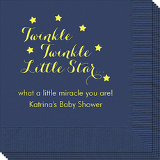 Twinkle Twinkle Little Star Napkins