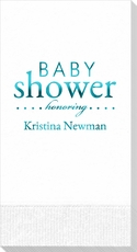 Baby Shower Honoring Guest Towels