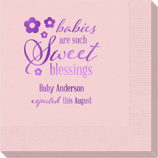 Sweet Blessings Napkins