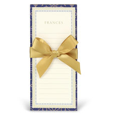 Navy and Gold Notepads