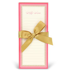 Pink and Gold List Notepad Set