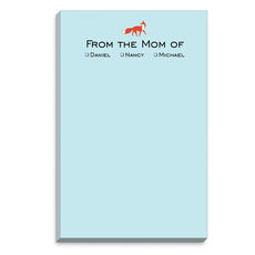Blue Fox Mommy Notepads